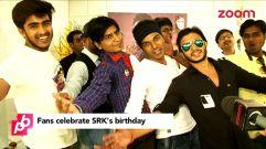 On Zoom TV at SRK's 50th Birthday celebration.